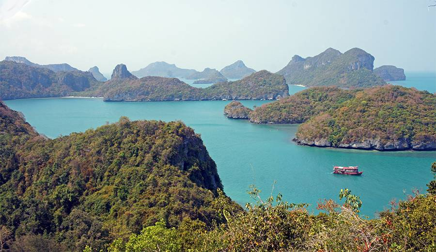 Ang Thong National Marine Park: 42 protected islands in the Gulf of Thailand