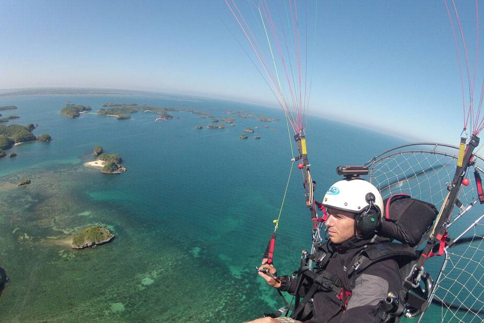 fly a paramotor in thailand