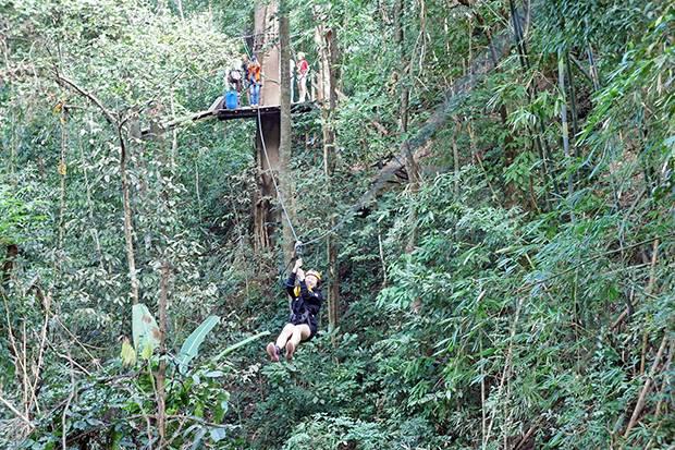 ziplines near chiang mai