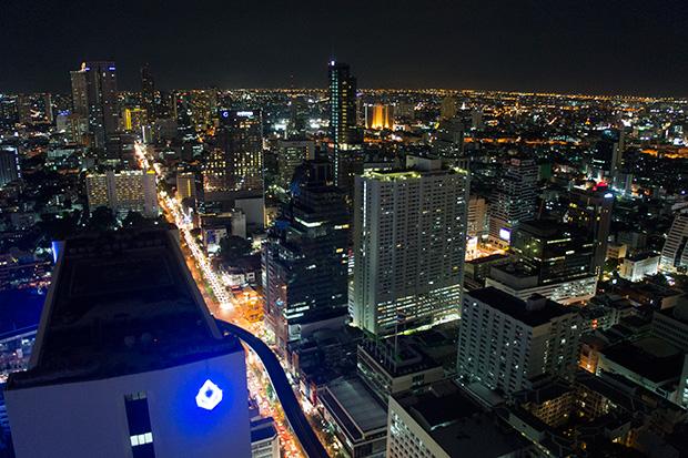 nighttime bangkok