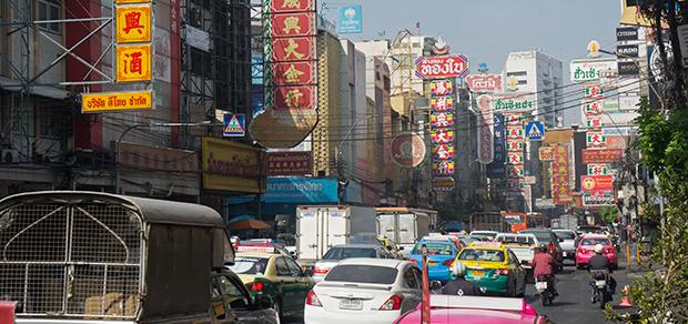 daytime Chinatown
