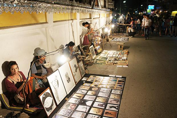 Pai night market