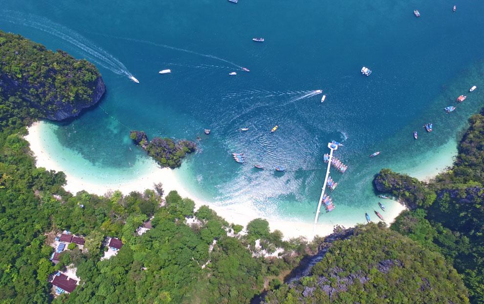 hong island aerial