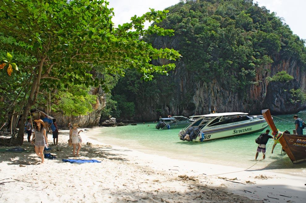 koh lao lading beach
