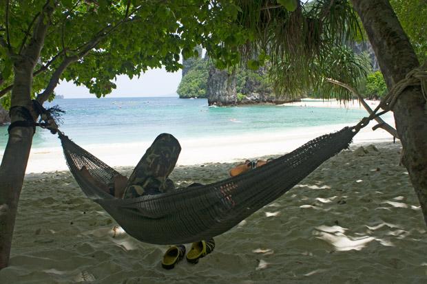 Quiet life Thai island