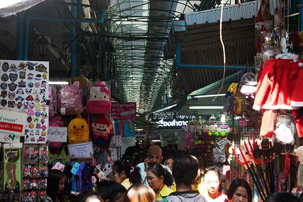 bangkok's chinatown markets