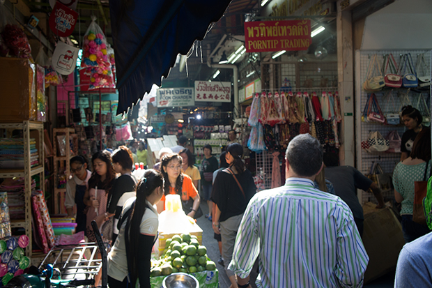 Chinatown markets by day