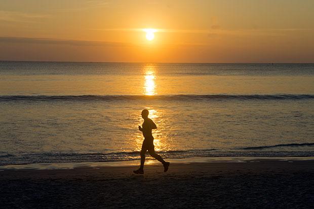 sunset at ao yai