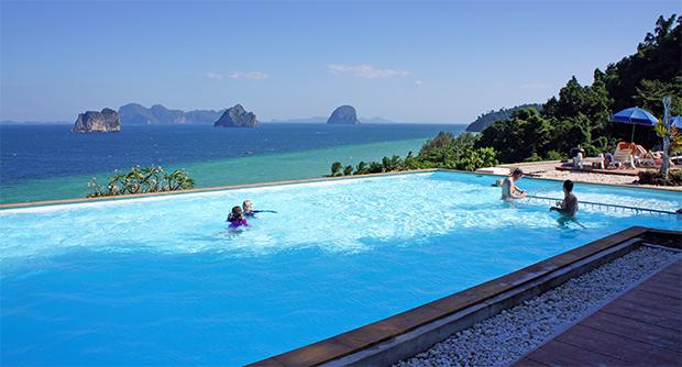 cliff resort pool