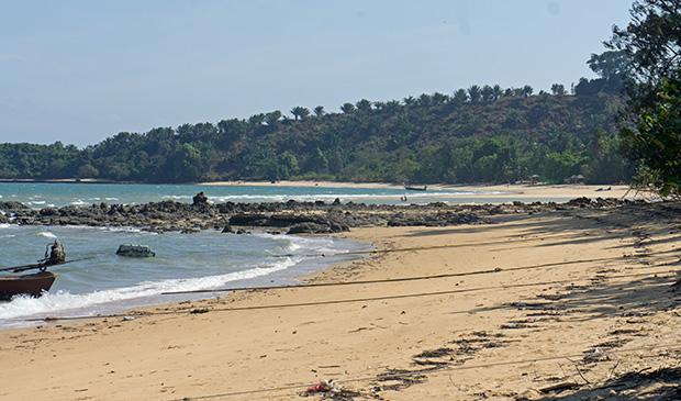 arrival beach