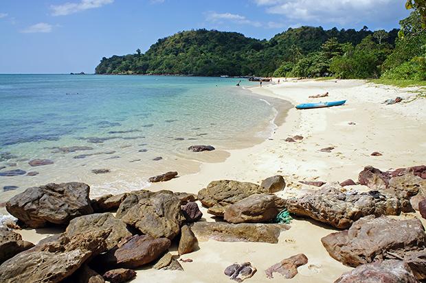 paradise beach kayak