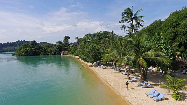 Paradise Resort beach