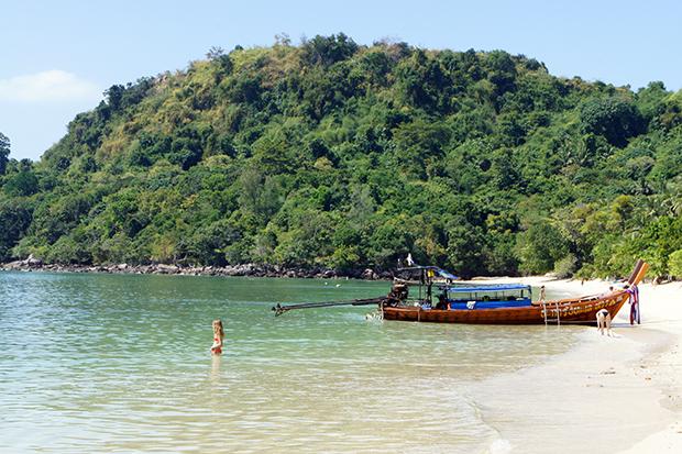 green paradise beach