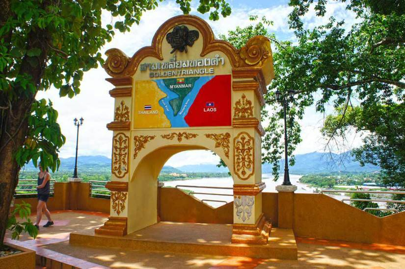 Thailand's Golden Triangle, what's left of the wild frontier of yore