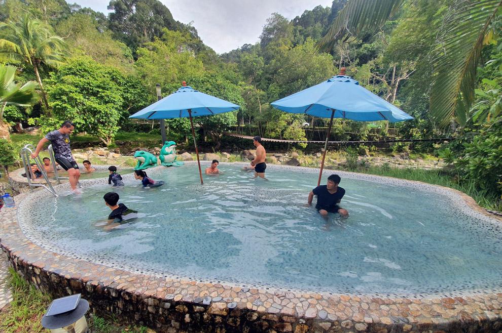 Public Hotspring in Ranong