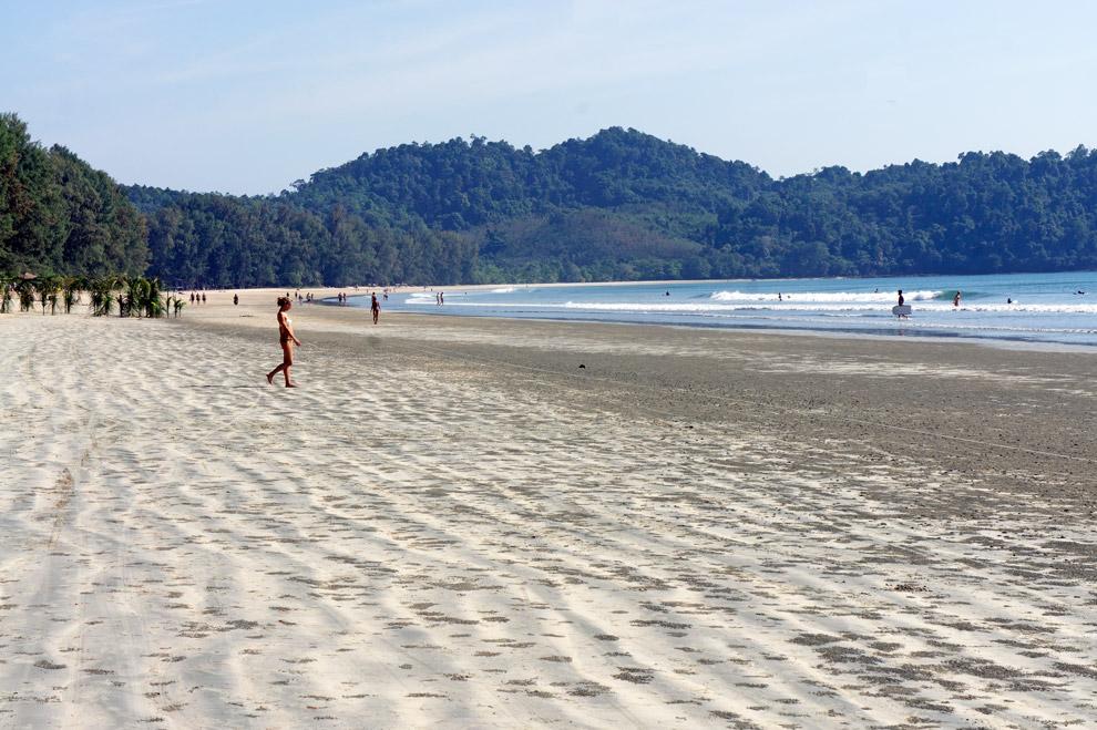 Aow Yai Beach at Koh Phayam