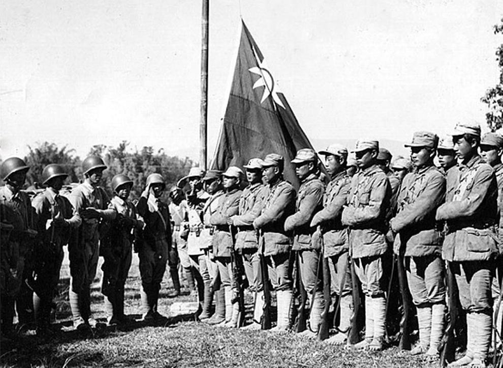 Kuomintang Army in Mae Salong