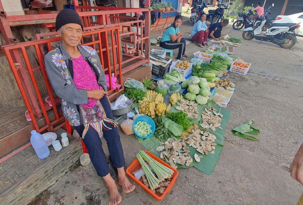 Local Market in Mae Salong