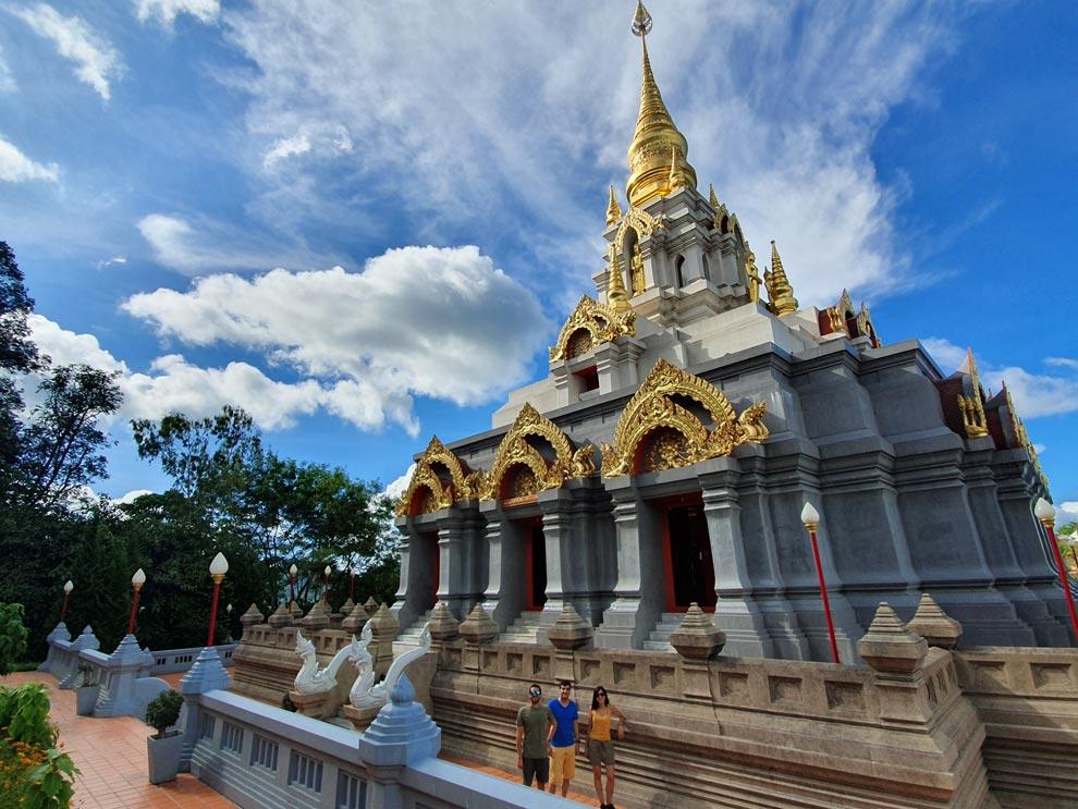 Santi Khiri Temple in Mae Salong